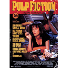 Постер Pulp Fiction - Cover (100x140 см)