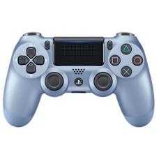 PS4: Контроллер игровой беспроводной титановый синий (Dualshock 4 Cont Titanium Blue: CUH-ZCT2E: SCEE)