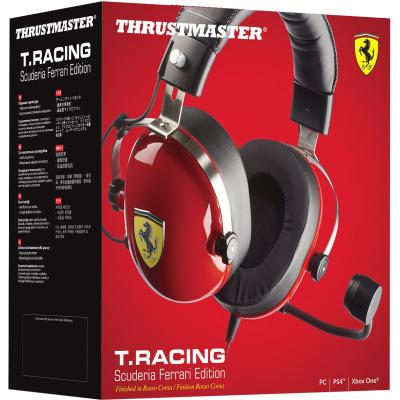 Гарнитура Thrustmaster игровая T.RACING Scuderia Ferrari Edition для Xbox One / PS4 / NS / 3DS / PC