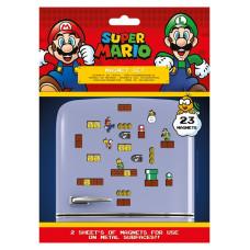 Набор магнитов Super Mario - Mushroom Kingdom (23 шт)