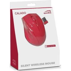 Мышь бесшумная проводная Speedlink Calado (Red)