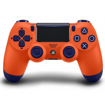PS4: Контроллер игровой беспроводной оранжевый (Dualshock 4 Sunset Orange: CUH-ZCT2E: SCEE)