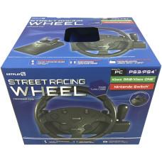 Руль гоночный Artplays Turbo C900 для PS4 / PS3 / PC / Xbox One / Xbox 360 / NS