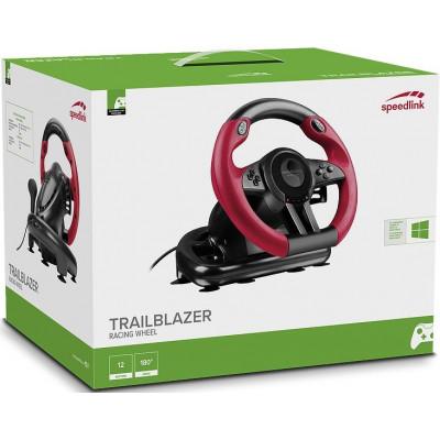 Руль гоночный Trailblazer для PC / PS4 / Xbox One / PS3 (SL-450500-BK)