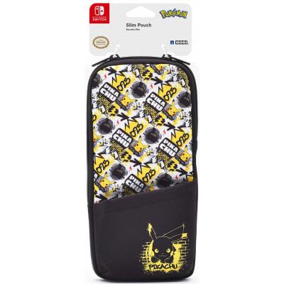 Чехол HORI Slim pouch для NS (Pikachu) NSW-231U