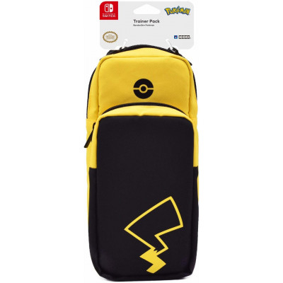 Сумка HORI Нательная Pokemon Trainer Pack для NS / NS Lite (Pikachu) NSW-171U