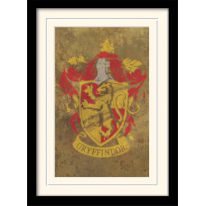 Принт в рамке Harry Potter - Gryffindor Crest (30x40 см)