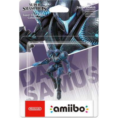Интерактивная фигурка Nintendo amiibo - Super Smash Bros - Dark Samus