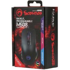 Мышь игровая проводная Marvo M508 с подсветкой RGB (Rainbow Backlight)