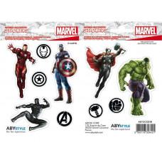 Набор наклеек Avengers - Avengers Team