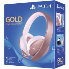 Гарнитура беспроводная Gold для PS4 (Gold Wireless Headset: CUHYA-0080) (Rose Gold)