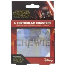 Набор подставок под напитки Star Wars: Episode IX The Rise of Skywalker (линзовидные)