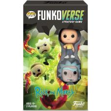 Настольная игра Rick and Morty - POP! Funkoverse - 101 Expandalone