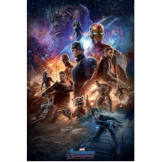 Постер Avengers: Endgame - Prepare for the Final Battle (91.5x61 см)