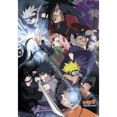 Постер Naruto Shippuden - Ninja War (98x68 см)