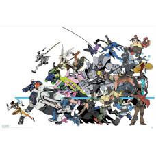 Постер Overwatch - All Characters (91.5x61 см)