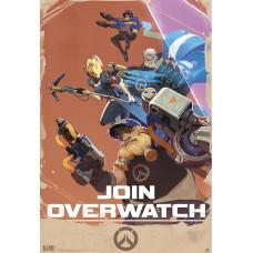 Постер Overwatch - Propaganda (91.5x61 см)