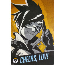 Постер Overwatch - Tracer Cheers Luv (61x91.5 см)