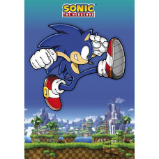 Постер Sonic the Hedgehog - Sonic Jump! (68x98 см)