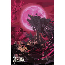 Постер The Legend of Zelda: Breath Of The Wild - Ganon Blood Moon (61x91.5 см)