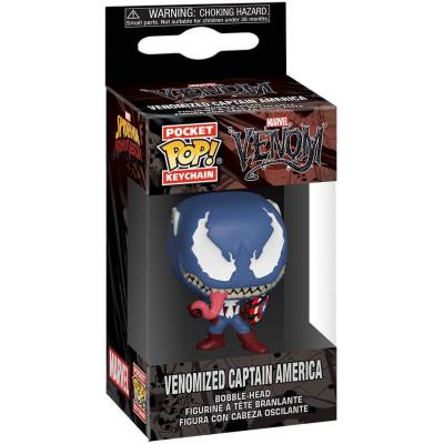 Брелок Funko Venom - Pocket POP! - Venomized Captain America 46462-PDQ (4 см)