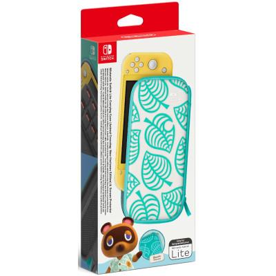 Чехол Nintendo и защитная плёнка для NS Lite (Animal Crossing: New Horizons)