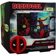 Кружка Marvel Comics - Deadpool (Heat Change) (450 мл)