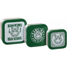 Набор контейнеров для хранения продуктов Stranger Things - Hawkins High School