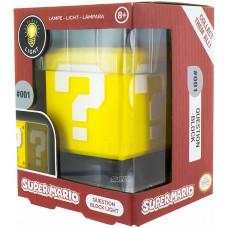 Светильник Super Mario - Icons - Question Block (3D Light)