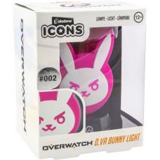 Светильник Overwatch - Icons - D.Va Bunny (3D Light)