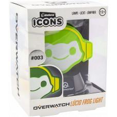 Светильник Overwatch - Icons - Lucio Frog (3D Light)