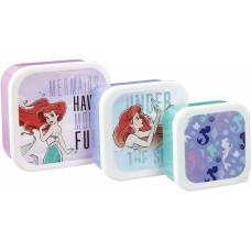 Набор контейнеров для хранения продуктов The Little Mermaid: Pearl Anniversary - Under The Sea