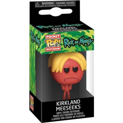 Брелок Funko Rick & Morty - Pocket POP! - Kirkland Meeseeks 44749-PDQ (4 см)