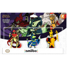 Интерактивная фигурка amiibo - Shovel Knight - Specter Knight / Plague Knight / King Knight