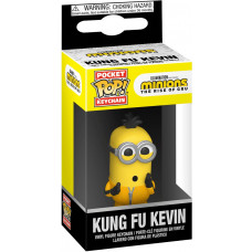 Брелок Minions 2: The Rise of Gru - Pocket POP! - Kung Fu Kevin (4 см)