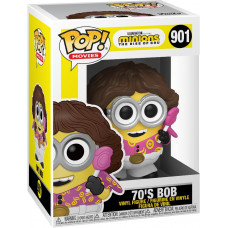 Фигурка Minions 2: The Rise of Gru - POP! Movies - 70's Bob (9.5 см)
