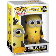 Фигурка Minions 2: The Rise of Gru - POP! Movies - Kung Fu Kevin (9.5 см)