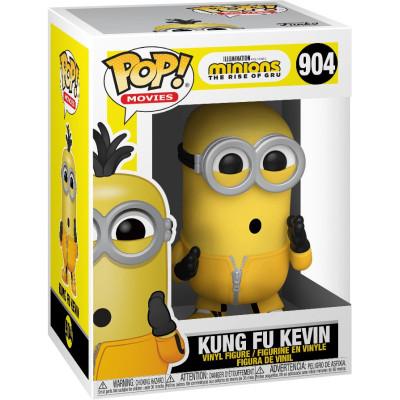 Фигурка Funko Minions 2: The Rise of Gru - POP! Movies - Kung Fu Kevin 47804 (9.5 см)