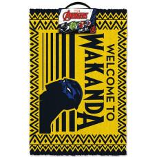 Коврик придверный Avengers - Welcome to Wakanda (40x60 см)