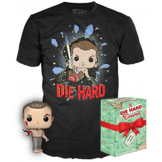 Набор Die Hard - POP! Tees (фигурка / футболка)
