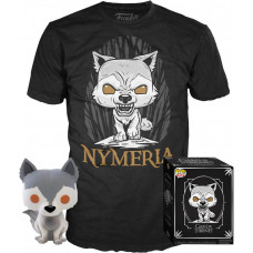 Набор Game of Thrones - POP! Tees - Nymeria (фигурка / футболка)