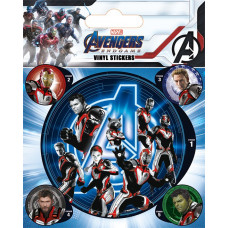 Набор наклеек Avengers: Endgame - Quantum Realm Suits (5 шт)