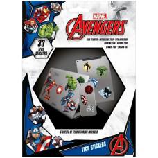 Набор наклеек Avengers - Heroes (33 шт)