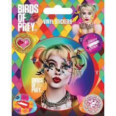 Набор наклеек Birds Of Prey - Seeing Stars (5 шт)