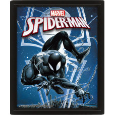 Линзовидный 3D постер Marvel Comics - Spider-Man / Venom (20x25 см)