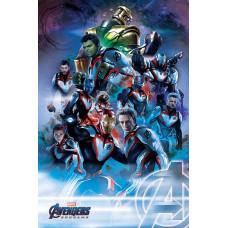 Постер Avengers: Endgame - Quantum Realm Suits (61x91.5 см)