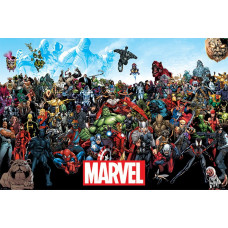Постер Marvel Comics - Universe (91.5x61 см)