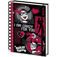 Блокнот Harley Quinn - I Am Crazy For You