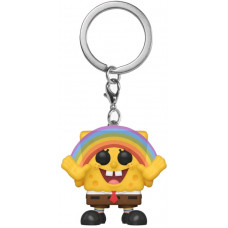 Брелок Spongebob Squarepants - Pocket POP! - Spongebob Squarepants (with Rainbow) (Exc) (4 см)
