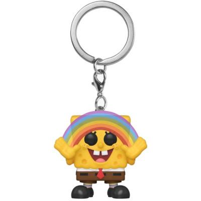 Брелок Funko Spongebob Squarepants - Pocket POP! - Spongebob Squarepants (with Rainbow) (Exc) 47609-PDQ (4 см)